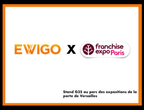 Ewigo était présent comme chaque année au salon Franchise Expo Paris