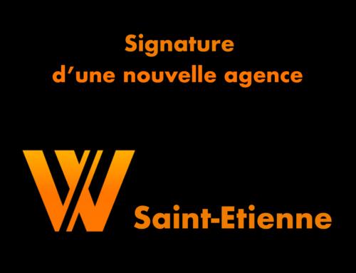 Signature d'une nouvelle agence à Saint Etienne