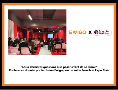 La conférence d'Ewigo au salon Franchise Expo 2019 : «Les 5 dernières questions à se poser avant de se lancer !»