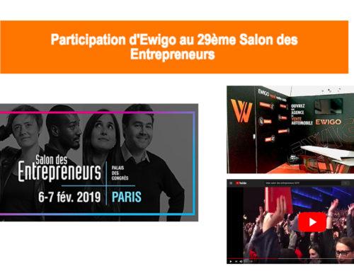 Participation d'Ewigo au 29ème Salon des Entrepreneurs