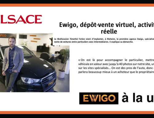 Le quotidien régional l'Alsace s'intéresse de plus près à Ewigo
