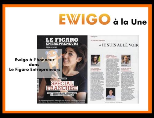 Ewigo à l'honneur dans Le Figaro Entrepreneurs