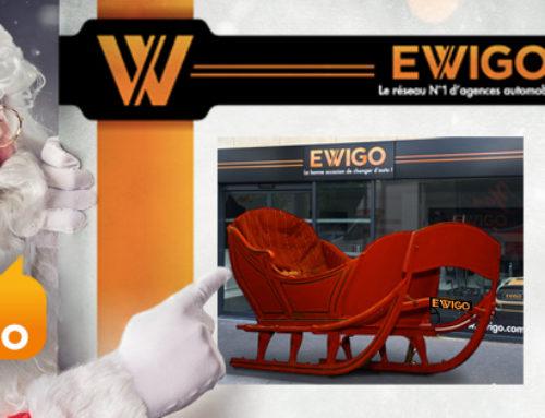 Ewigo saute sur l'occasion pour vous souhaiter un Joyeux Noël 2019 !