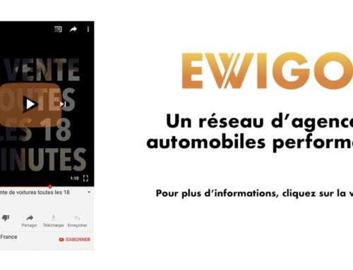 La performance Ewigo : 1 vente de voiture toutes les 18 minutes !