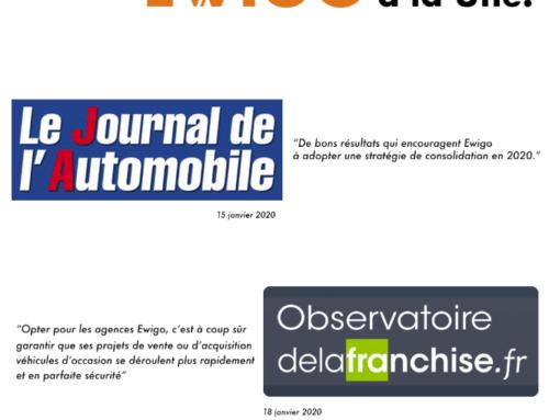 Le dynamisme et la qualité du réseau Ewigo à la Une en janvier 2020 !