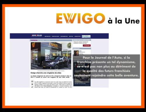 La qualité des futurs franchisés Ewigo explique le dynamisme du réseau Ewigo pour le Journal de l'Auto.