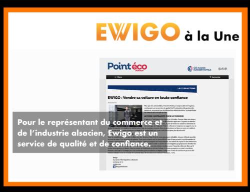 Pour le représentant du commerce et de l'industrie alsacien (CCI), Ewigo est un service de qualité et de confiance.