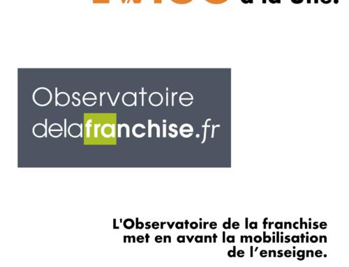 L'Observatoire de la franchise met en avant la mobilisation de l'enseigne Ewigo.