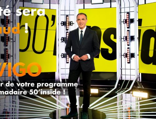 Ewigo sponsporise votre émission 50'inside sur TF1