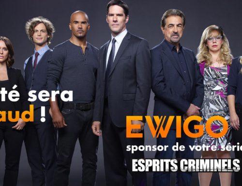 Ewigo continue de sponsoriser vos soirées séries US sur TF1 !