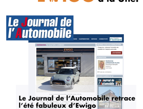 Le Journal de l'Automobile retrace l'été fabuleux d'Ewigo