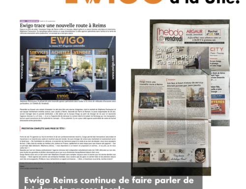 Ewigo Reims continue de faire parler de lui dans la presse locale.