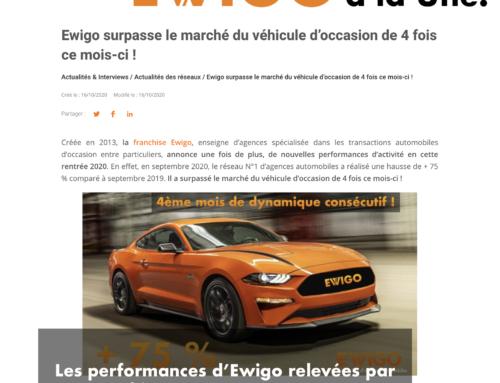 Les performances d'Ewigo saluées par AC Franchise !