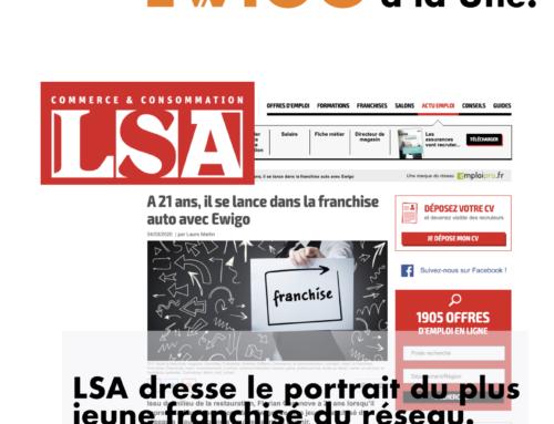 LSA dresse le portrait du plus jeune franchisé du réseau.