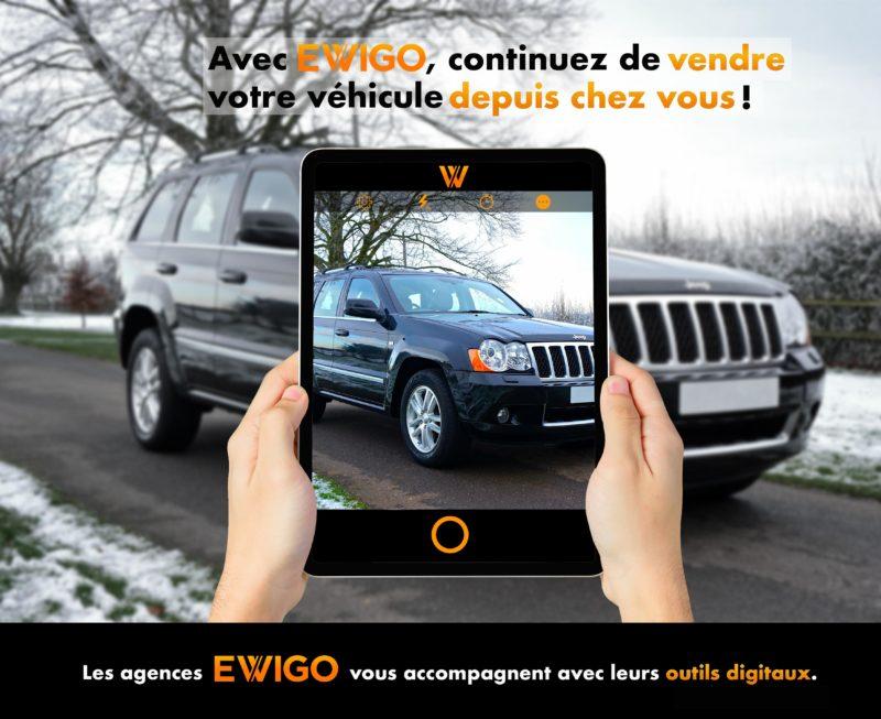 En cette nouvelle période de confinement, les agences du réseau Ewigo souhaitent vous réaffirmer que nous pensons à vous et que nous restons plus que jamais, présents à vos côtés. Au-delà des mots, voici comment notre réseau s'adapte et s'organise afin de vous permettre de concrétiser, en toute sécurité votre projet automobile.