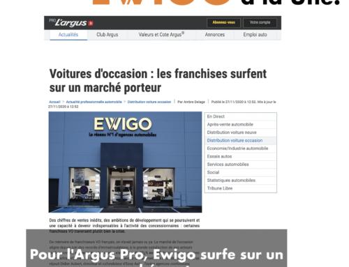 Pour l'Argus Pro, Ewigo surfe sur un marché porteur