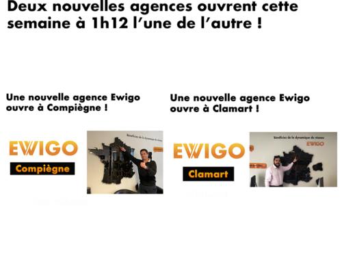 🆕 Compiègne et Clamart rejoignent la grande famille Ewigo