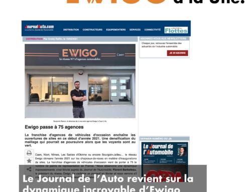 🚀 Le journal de l'Auto constate la dynamique d'Ewigo !