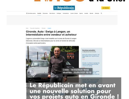 Le Républicain met en avant une nouvelle solution pour vos projets auto en Gironde !
