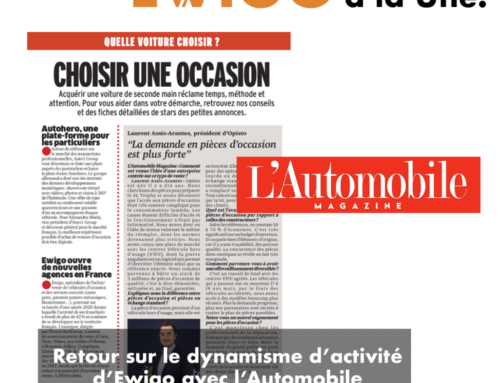 Retour sur le dynamisme d'activité d'Ewigo avec l'Automobile Magasine