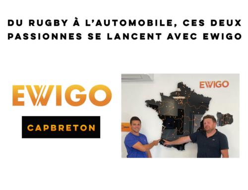 Un nouveau duo se lance dans l'aventure Ewigo à Capbreton !